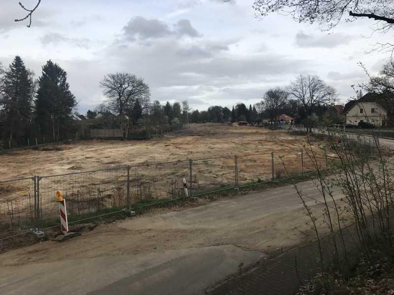 Haben wir ein Grundstück reserviert?