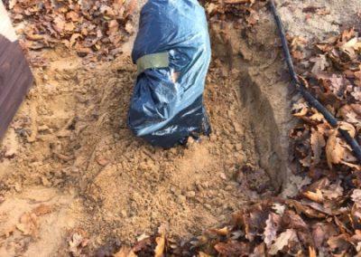 Sand abtragen (2)