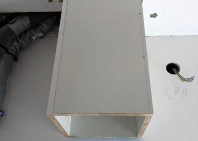 montierter Schacht im HWR