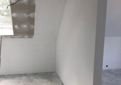 Hier muss der Rolladen noch verkabelt werden - Vorbereitung Maler